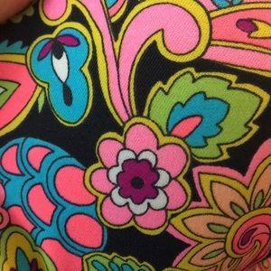Victoria's Secret Swim - Victoria's Secret hippie floral neon bikini top